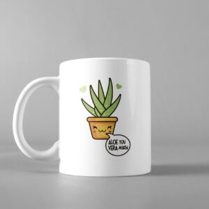 ALOE YOU VERA MUCH COFFEE MUG
